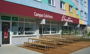 Sorry, Campus Cafeteria E1nstein is closed till 06.03.2017